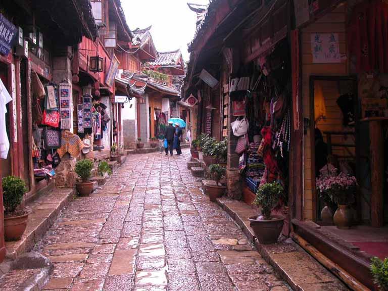 云南丽江古城景点图片